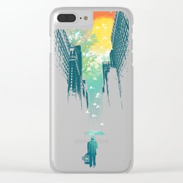 I Want My Blue Sky Clear iPhone Case