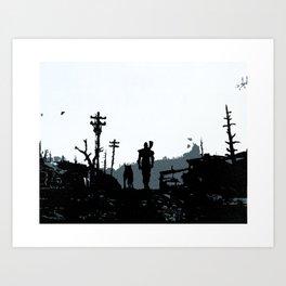 The Lone Wanderer Art Print