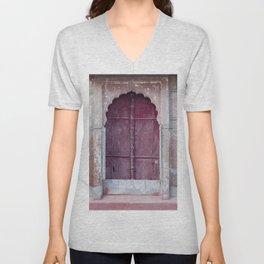 Doors Of Rajasthan 2 Unisex V-Neck