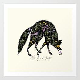 The Good Wolf Art Print