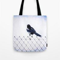 pie Tote Bags featuring Pie by Clémence Aresu