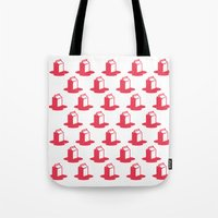 milk Tote Bags featuring Milk by SMOKIN' HOT MEN