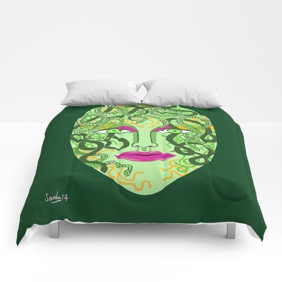 green visage Comforters