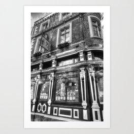 The Cockpit Pub London Art Print