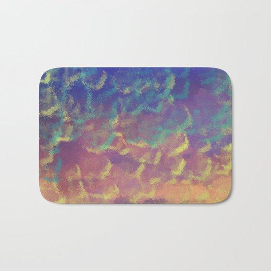 Watercolor Splash #3 #art #society6 Bath Mat