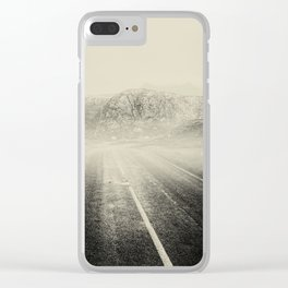 The Road and the Mountains II Clear iPhone Case