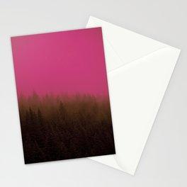 Pink & Chocolate Taffy Fog - Seward, Alaska Stationery Cards