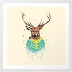 Wonder Deer Art Print