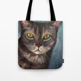 Rain the cat Tote Bag