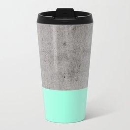 Sea on Concrete Travel Mug