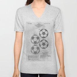 Soccer Ball Unisex V-Neck