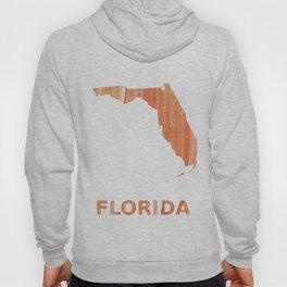 Florida map Hoody