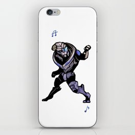 Mass Effect Garrus Dance iPhone Skin