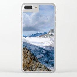 Bietschhorn II Clear iPhone Case