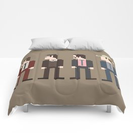 Anchorman 8-Bit Comforters