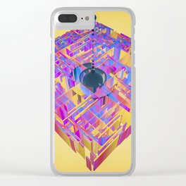 in the disarray Clear iPhone Case