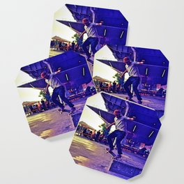 Colorful Skater Coaster