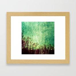 Shades of green Framed Art Print