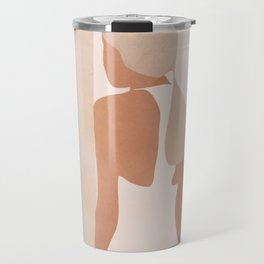 Abstract Woman in a Dress Travel Mug