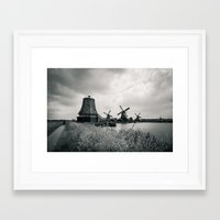 regina mills Framed Art Prints featuring Mills... by belkat