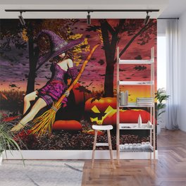 Season Of The Witch Wall Mural