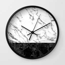 Marble II Wall Clock