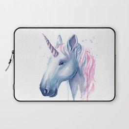 Blue Pink Unicorn Laptop Sleeve