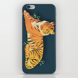 Tiger At Rest iPhone Skin