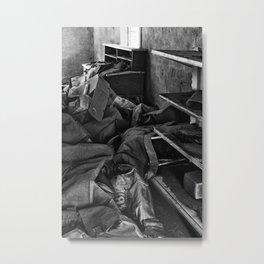 A Mess Metal Print
