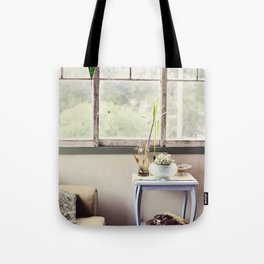 Summer House Tote Bag