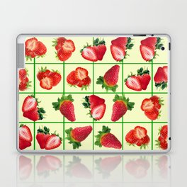 Strawberries pattern Laptop & iPad Skin