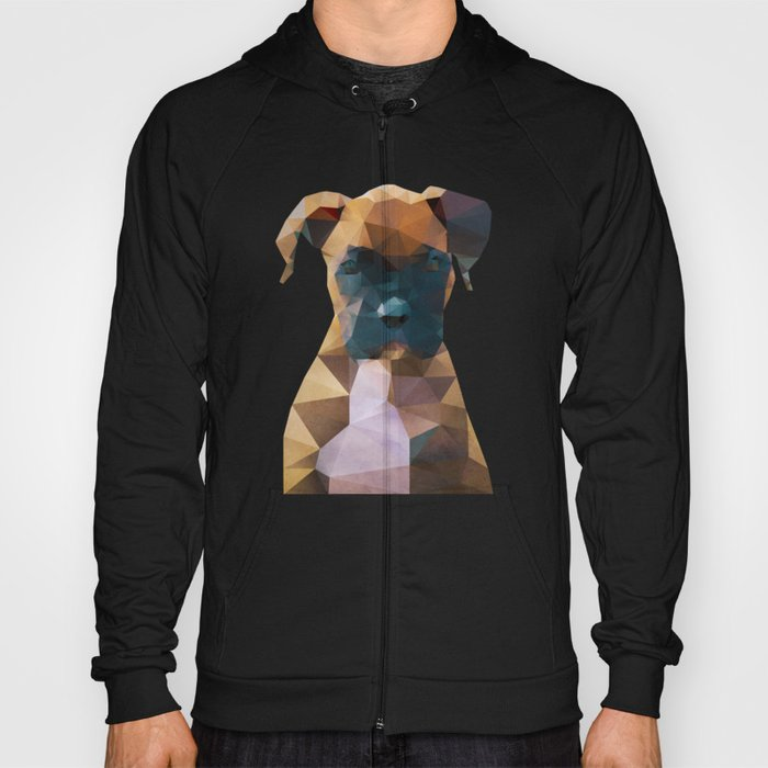 The Boxer - Dog Portrait Hoody