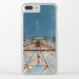 Love above the clouds Clear iPhone Case