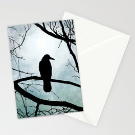 Bird 77 Crow Raven Stationery Cards
