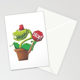 Security Flytrap Stationery Cards