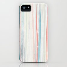 Painterly Stripes Slim Case iPhone (5, 5s)