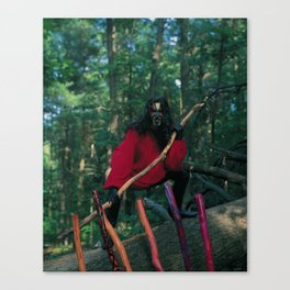 7 of Wands Canvas Print