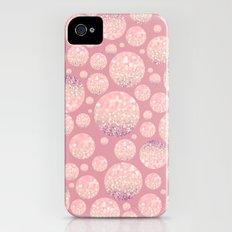 Blushing Bokeh Dots Slim Case iPhone (4, 4s)