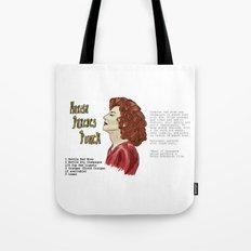 Marisa Paredes Punch Cocktail Recipe Tote Bag
