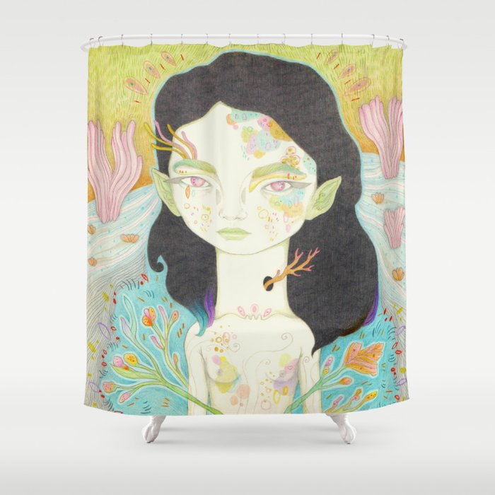 Lovely Nature Princess Shower Curtain
