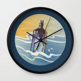 Ghost Ship 2 Wall Clock