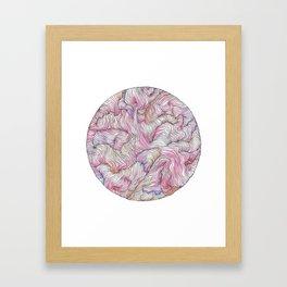 Radiant Pink Framed Art Print
