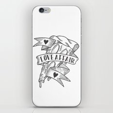 PIZZA LOVE AFFAIR iPhone Skin