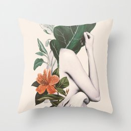 natural beauty-collage 2 Throw Pillow