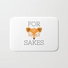For Fox Sakes Bath Mat