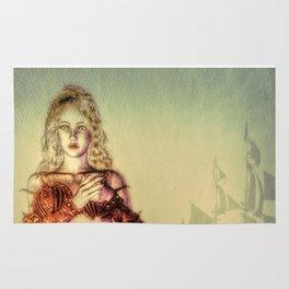 The Lonely Mermaid Rug