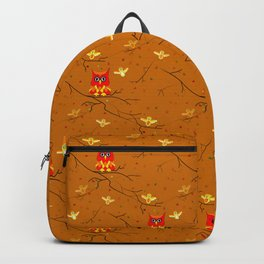 Whimsical Autumn Colors Backpack