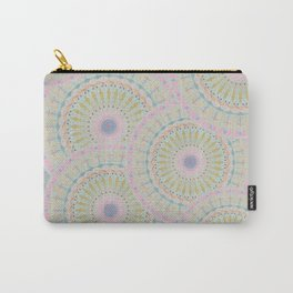 Pink Mandala Pattern Carry-All Pouch
