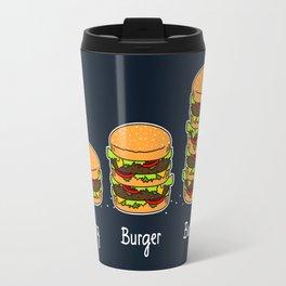 Burger explained 2. Burg. Burger. Burgest. Travel Mug
