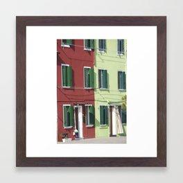 Two halves Framed Art Print
